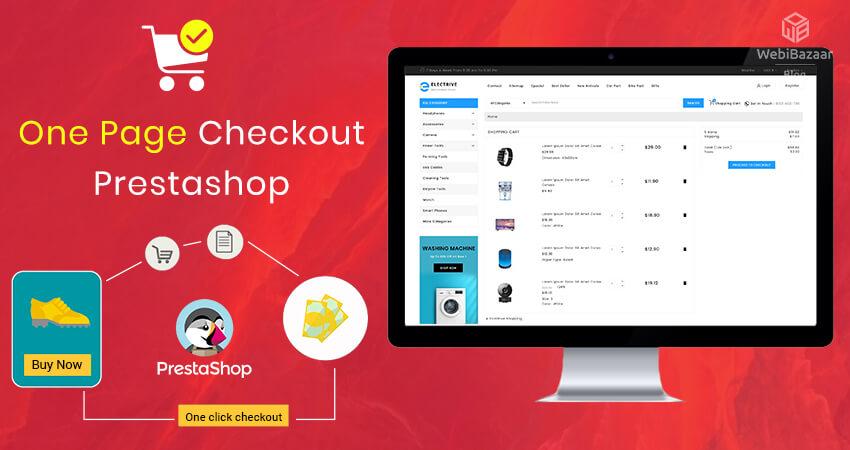 One Page Checkout PrestaShop - Webibazaar Templates