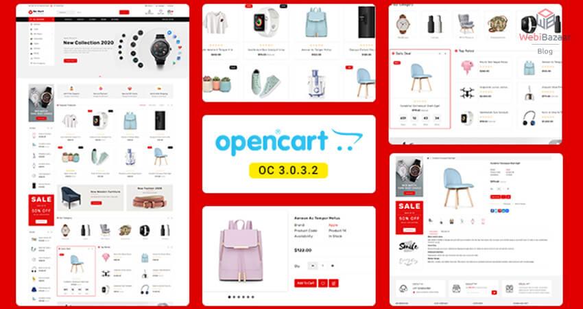 Best OpenCart eCommerce Responsive Templates - Webibazaar Templates
