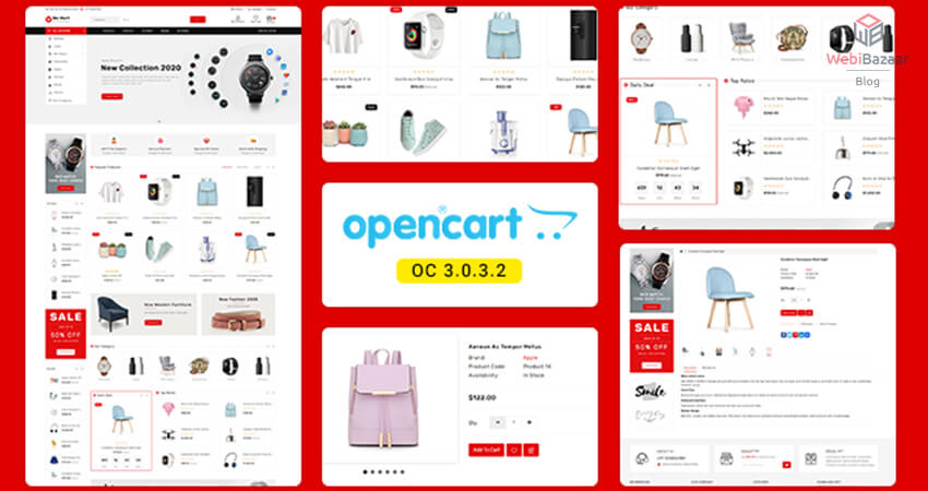 Best OpenCart eCommerce Themes By Webibazaar Templates