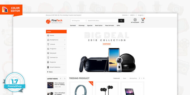 PrestaShop Free Marketplace Themes