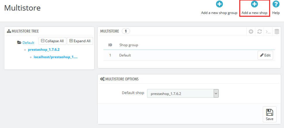 How to Setup Multistore in PrestaShop 1.7