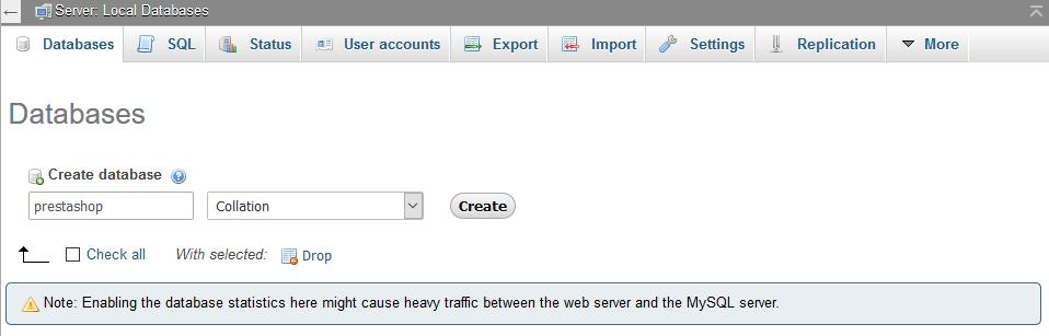 How to install PrestaShop on localhost ?