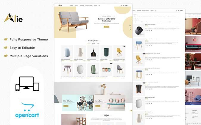 Alie Best OpenCart Themes