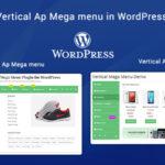 Horizontal & Vertical Ap Mega menu in WordPress