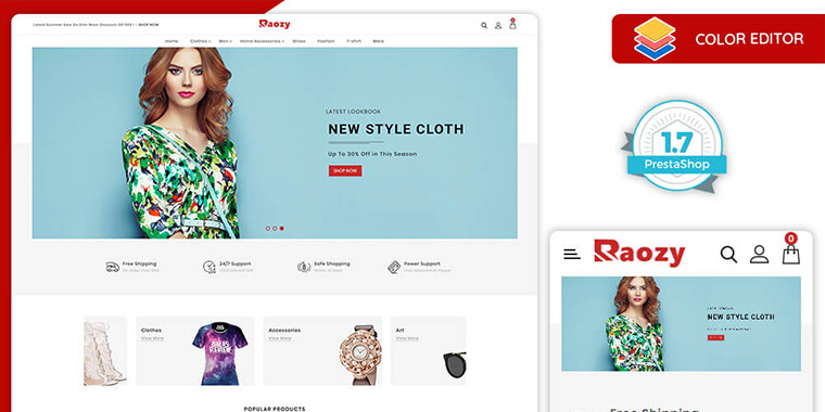 Fashion Premium PrestaShop Theme