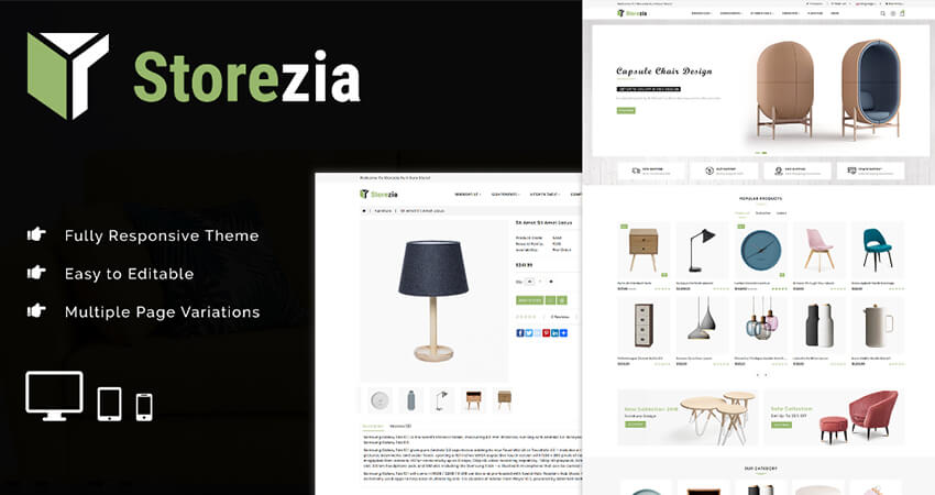 Opencart Furniture Theme