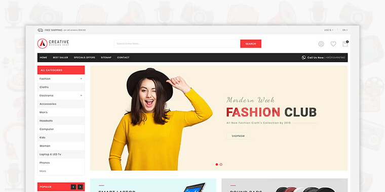 Best Shopify Themes For Electronics