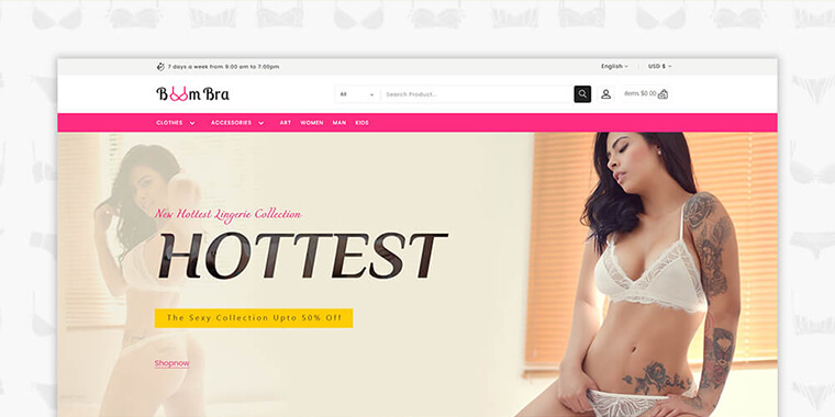Best PrestaShop eCommerce Themes