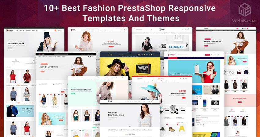 Best Fashion Prestashop themes Templates
