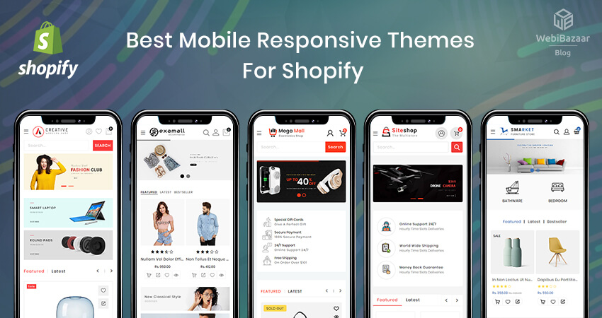Best Shopify Theme For Mobile Phone - Webibazaar Themes