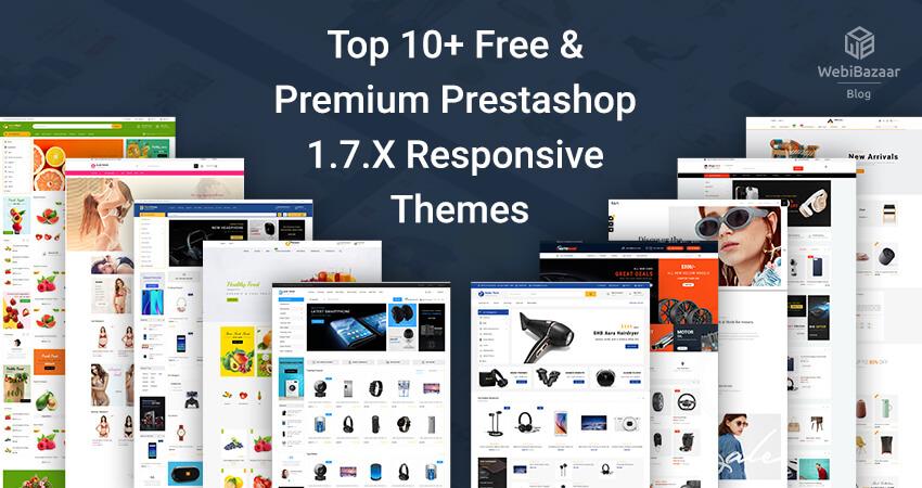 Top 10 Free Premium Prestashop 1.7.X Responsive Themes