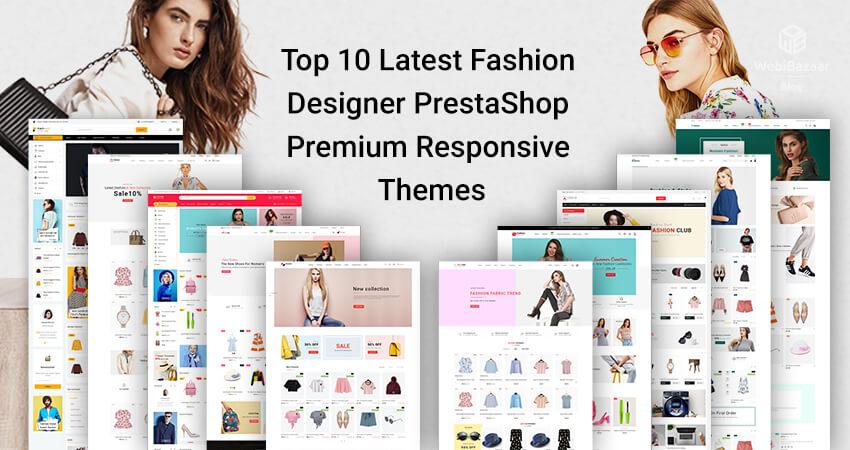 Best 10 Fashion Multiboutique Prestashop Theme - Webibazaar Templates