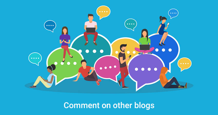 Comment on other blogs