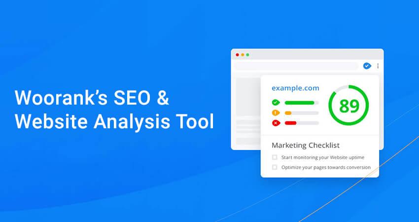 Woorank's SEO & Website Analysis Tool