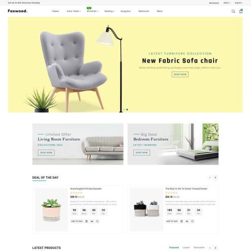 Foxwood - The Furniture PrestaShop Theme