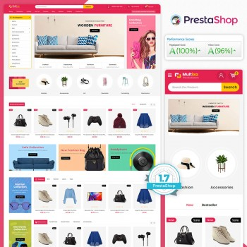 Multixa - The MultiStore PrestaShop Theme