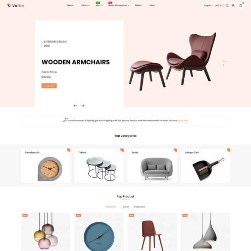Voliza - The Furniture PrestaShop Theme