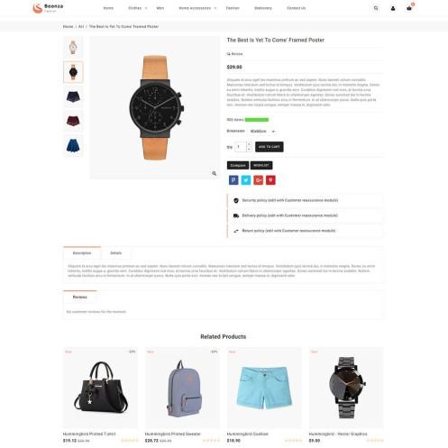 Beonza - The Fashion PrestaShop Theme