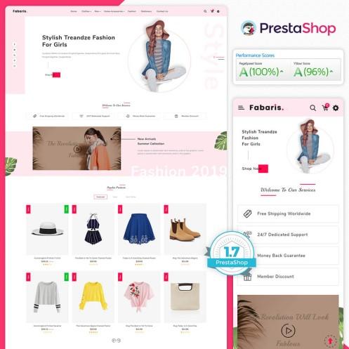 Fabaris - The Fashion PrestaShop Theme