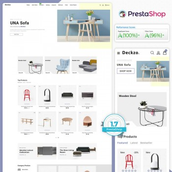Deckzo - The Furniture PrestaShop Theme