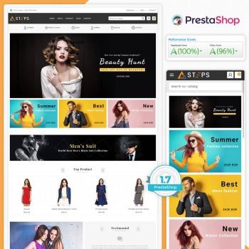 Steps - The Fashion PrestaShop Theme
