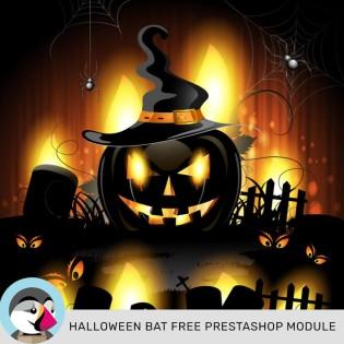 Leo Halloween Bat Free PrestaShop Module