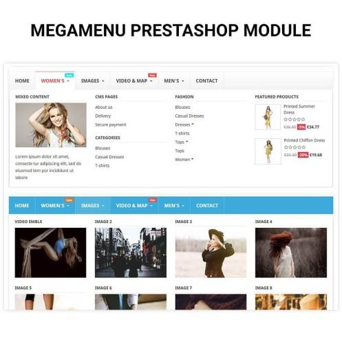 Leo Megamenu Prestashop Module