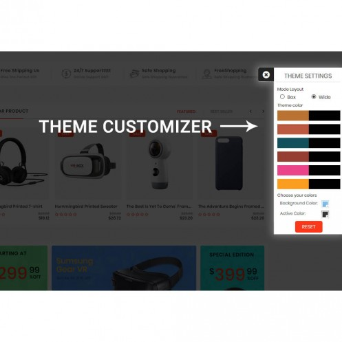 Webi Theme Customizer
