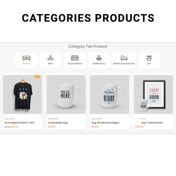 Webi Category Tab Product