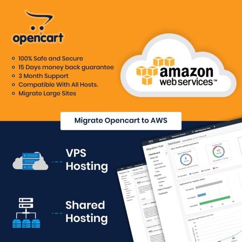AWS Cloud Server Migration Opencart