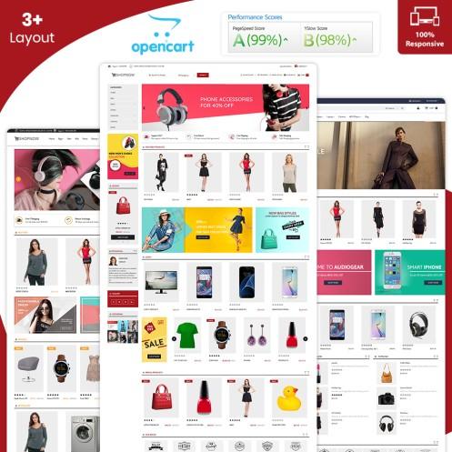 ShopNow - Free Opencart Theme