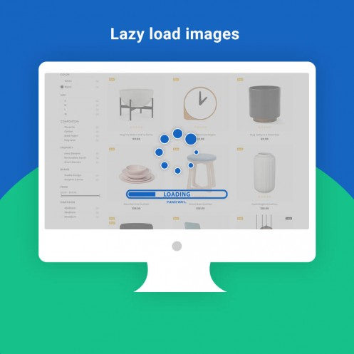 Lazy Loader On Product load