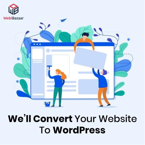 Convert Website To Wordpress