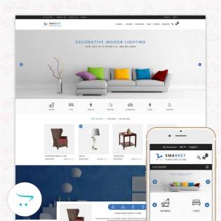 SMARKET 3.0.X Opencart Furniture Theme