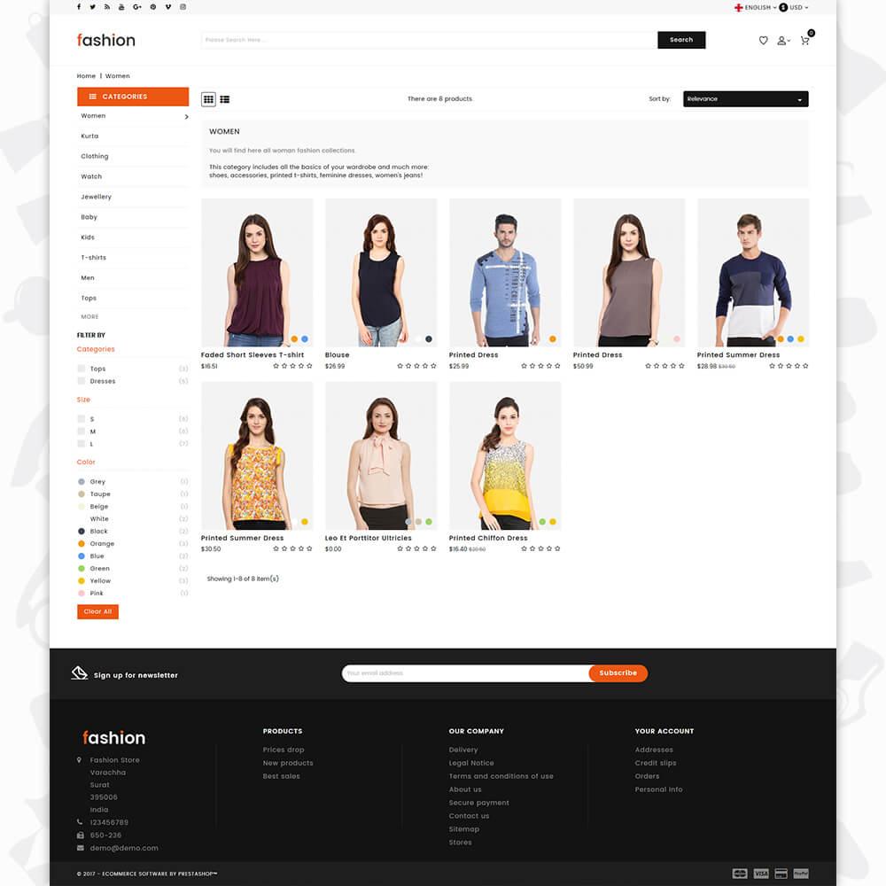 Fashion 3.0.X Opencart MultiPurpose Responsive Theme
