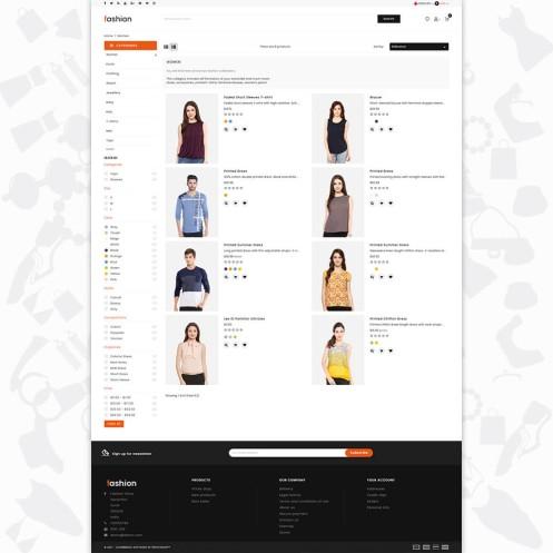 Fashion Free OpenCart 3 MultiPurpose Responsive Theme