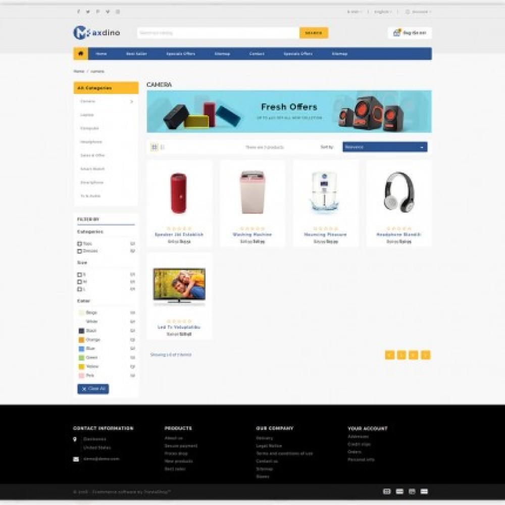 Maxdino - Multipurpose Shopify Theme