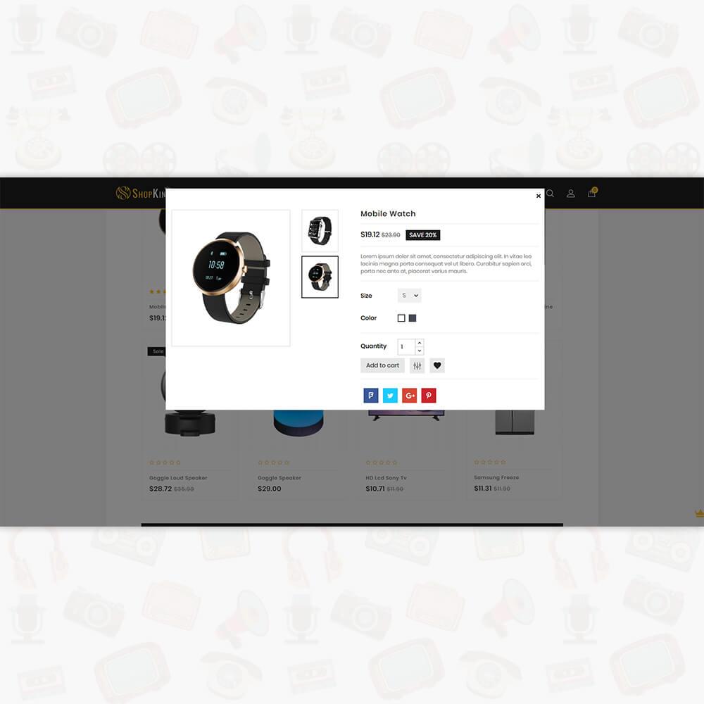 Shopking 3.0.x Opencart Multipurpose Responsive Theme