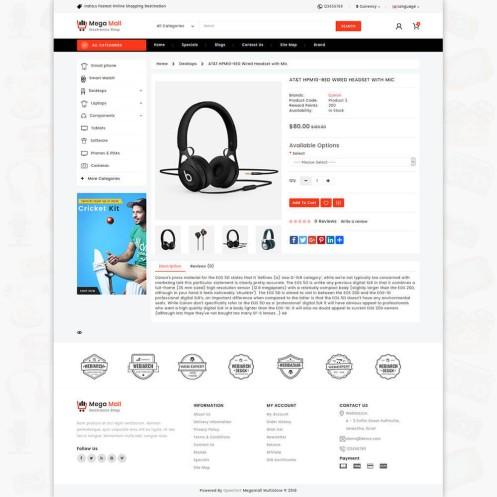 Megamall Multipurpose Shopify Theme