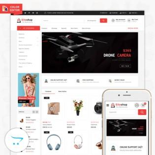 Siteshop OpenCart 3 MultiPurpose Responsive Theme