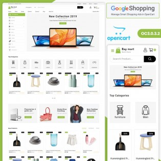 Baymart 3.0.X OpenCart MultiPurpose Responsive Theme