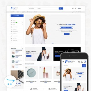 Paystore 3.0.X Opencart MultiPurpose Responsive Theme