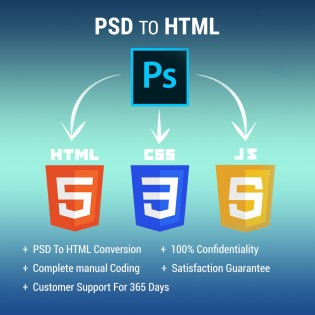 PSD To HTML Conversion Services
