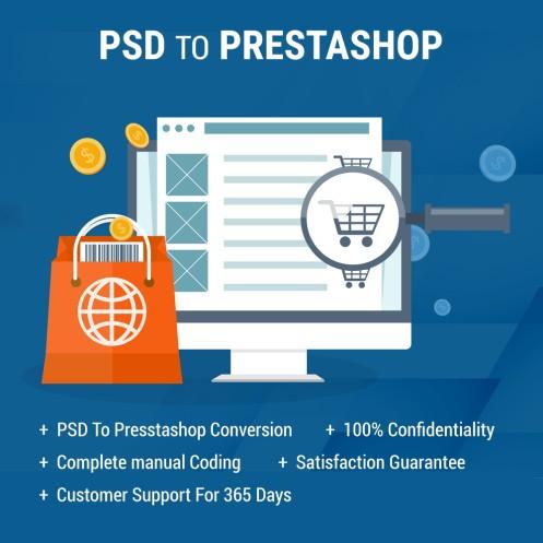 PSD to PrestaShop Conversion Services