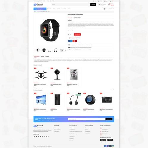 Twinvolt 3.0.X Opencart Electronics Responsive Theme