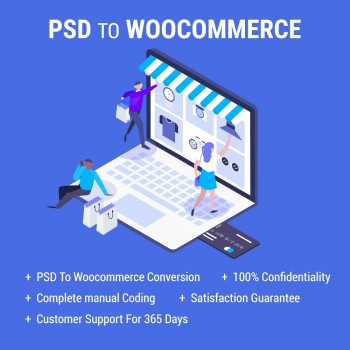 PSD To WooCommerce Conversion Services