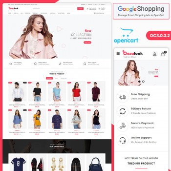 Beaulook Fashion Responsive OpenCart 3 Theme