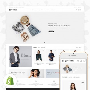 Hexamall Shopify Responsive Theme