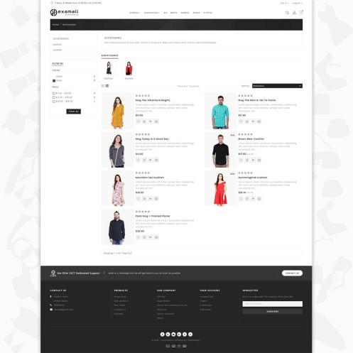 Hexamall Shopify Responsive Theme