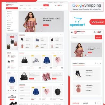 Fashstore Responsive Fashion Opencart Theme